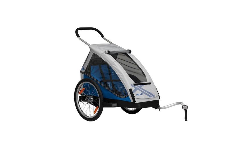 XLC Mono - Remorque vélo - gris/bleu